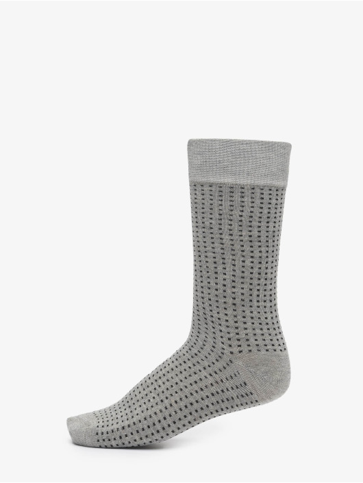 Urban Classics Ponožky Stripes And Dots Socks 5-Pack èierna