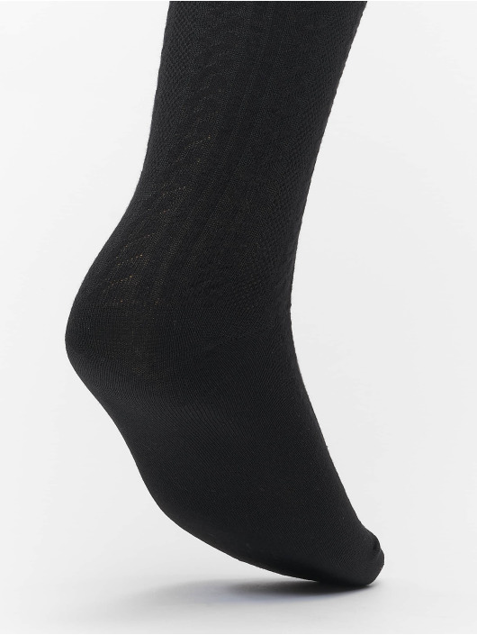 Urban Classics Ponožky Cosy Jaquard 3-Pack čern