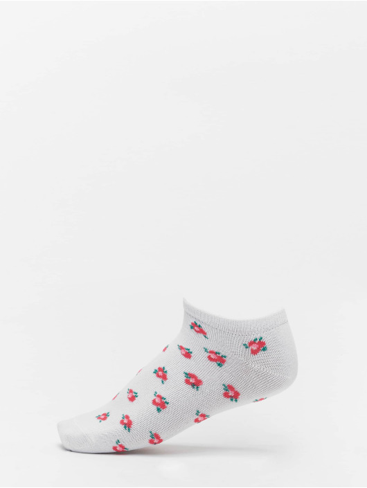 Urban Classics Ponožky Recycled Yarn Flower Invisible 4-Pack šedá