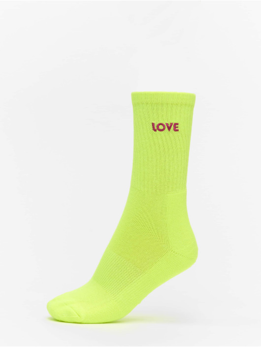 Urban Classics Ponožky Pride Pack 3-Pack žltá