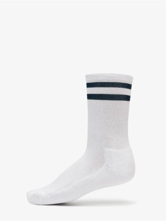 Urban Classics Ponožky 2-Pack Stripe Sport biela