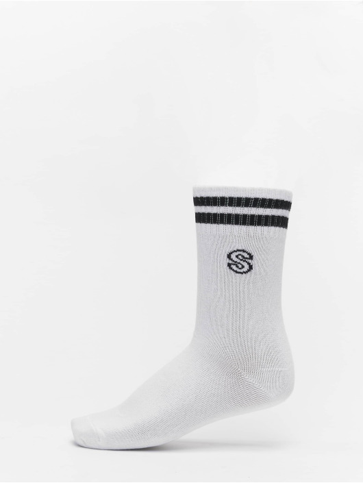 Urban Classics Ponožky College Letter Socks 7-Pack biela