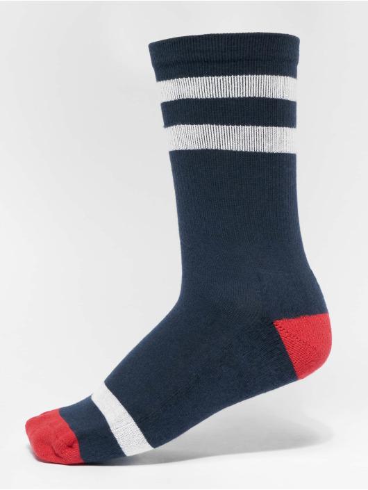 Urban Classics Ponožky Multicolor Socks 2-Pack modrá