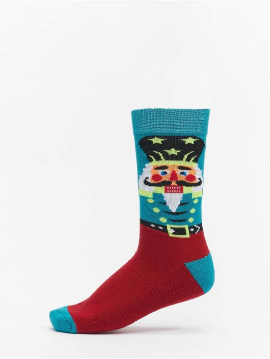 Urban Classics Ponožky Christmas Nutcracker Mix pestrá
