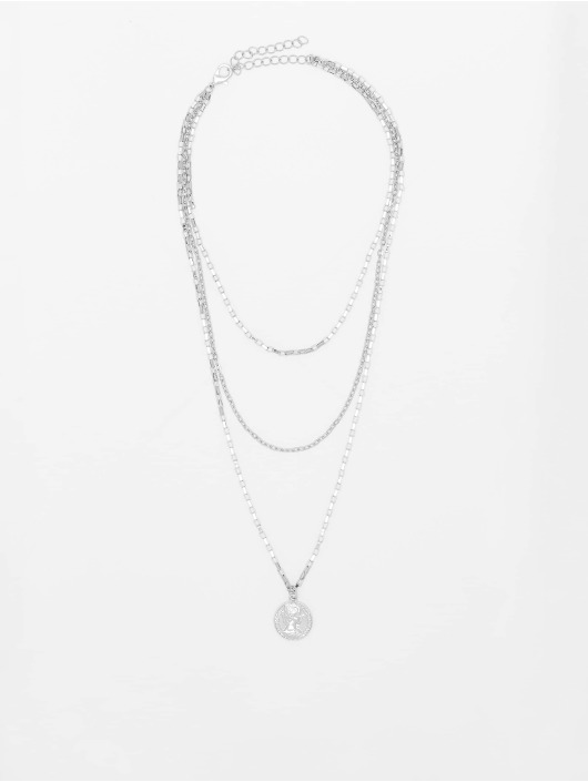 Urban Classics Pozostałe Layering Amulet srebrny
