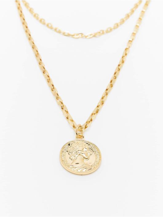 Urban Classics Pozostałe Layering Amulet zloty