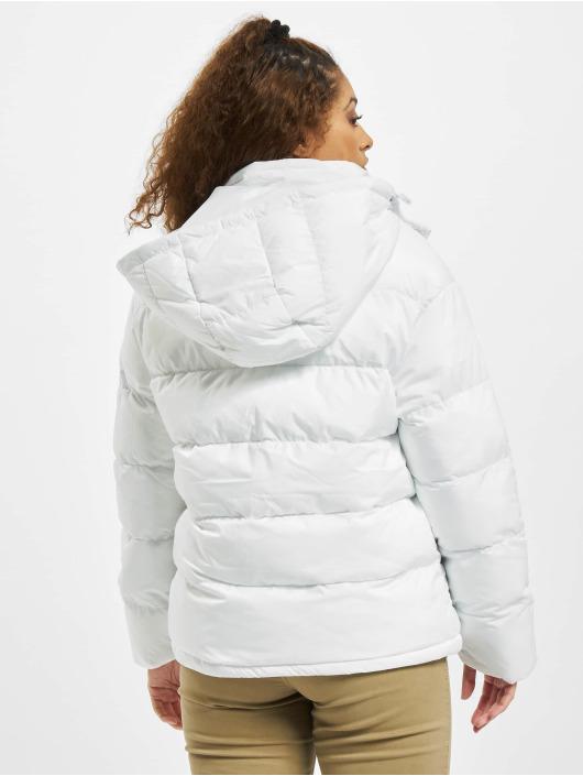 Urban Classics Prešívané bundy Hooded biela