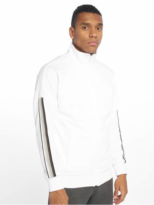 Urban Classics Prechodné vetrovky Sleeve Taped biela