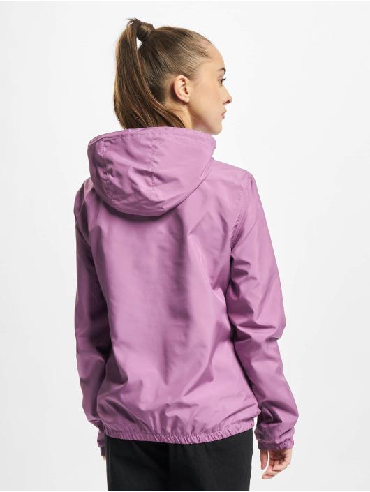 Urban Classics Prechodné vetrovky Ladies Basic fialová