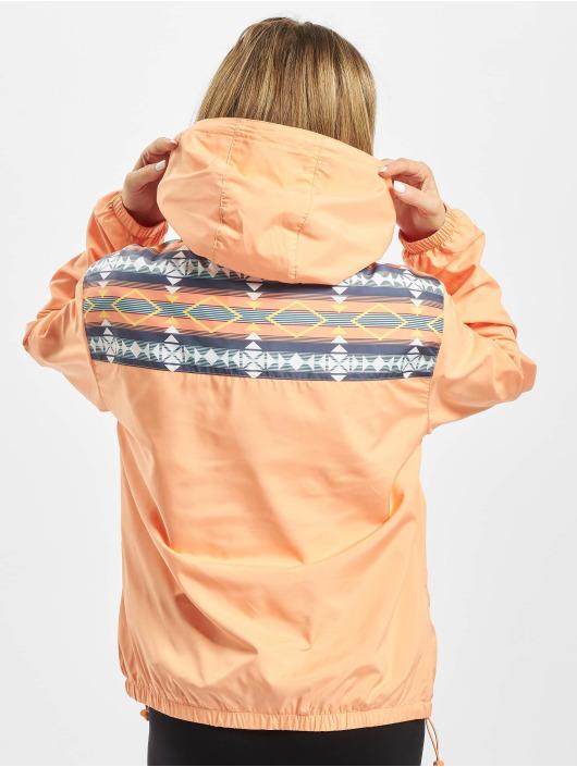 Urban Classics Prechodné vetrovky Ladies Inka oranžová