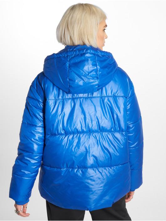 Urban Classics Puffer Jacket Vanish blau