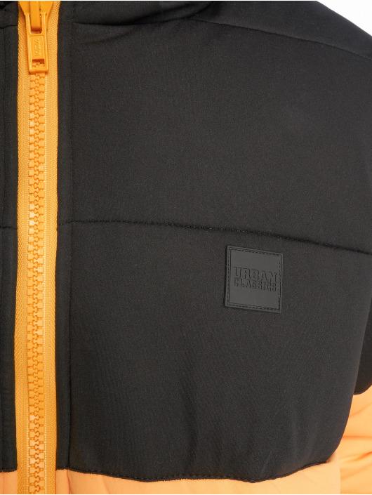 Urban Classics Puffer Jacket Hooded 2-Tone gelb