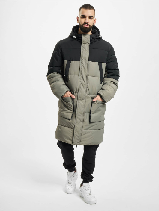 Urban Classics Puffer Jacket Puffer grau