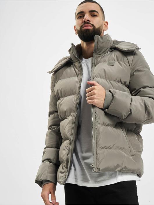 Urban Classics Puffer Jacket Hooded Puffer gray