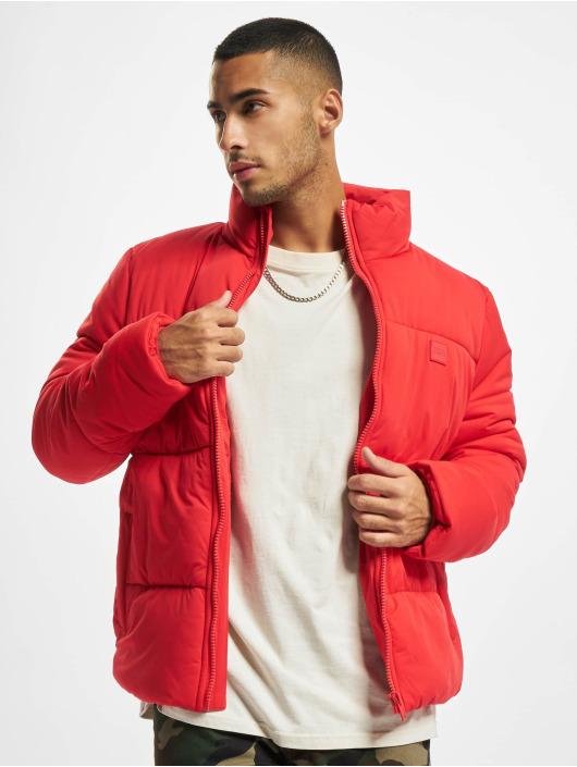 Urban Classics Puffer Jacket Boxy red