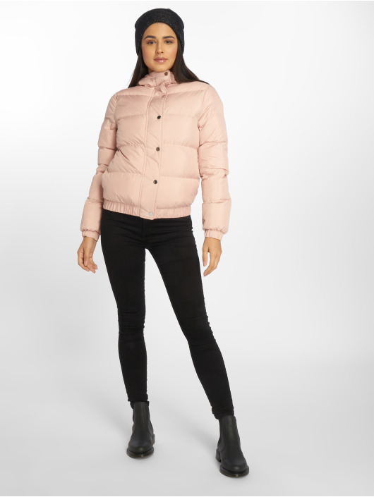 Urban Classics Puffer Jacket Hooded Puffer rose