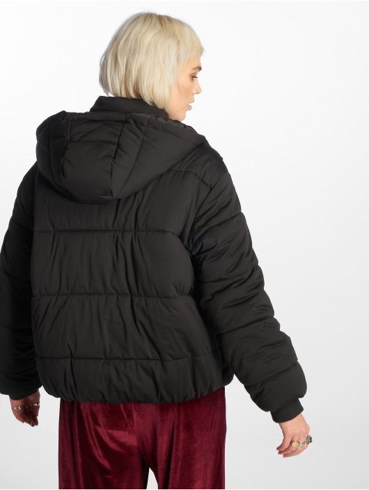 Urban Classics Puffer Jacket Boyfriend schwarz