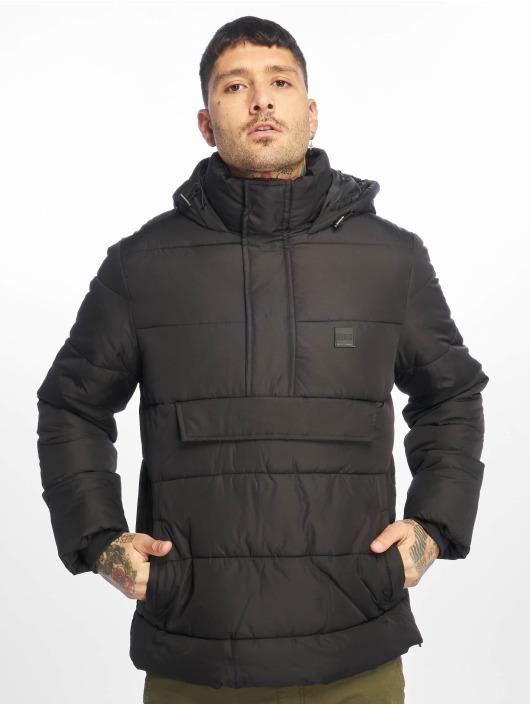 Urban Classics Puffer Jacket Pull Over Puffer schwarz