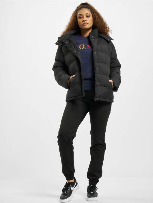 Urban Classics Puffer Jacket Hooded schwarz