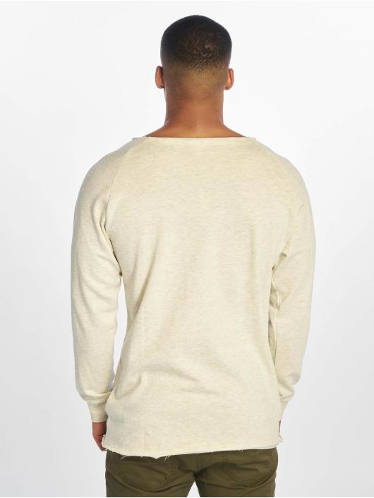 Urban Classics Pullover Long Open Edge Terry beige