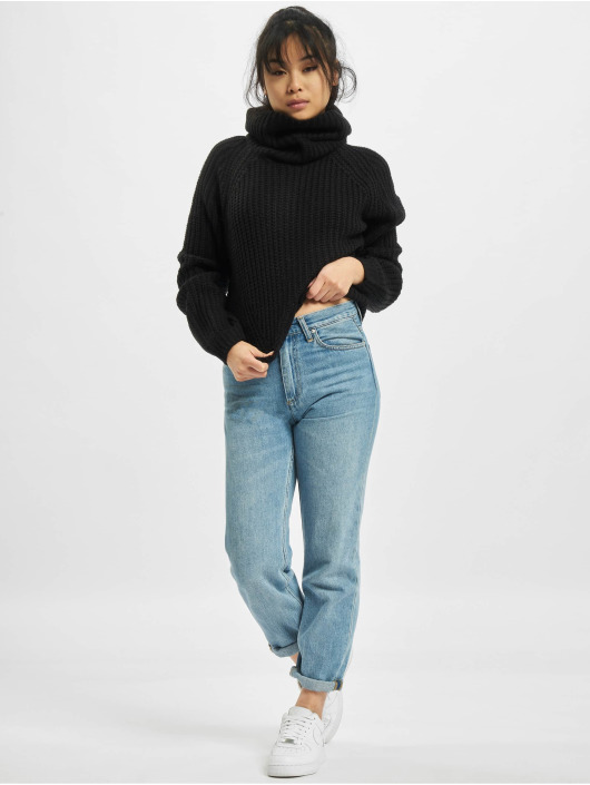 Urban Classics Pullover Short Turtleneck black