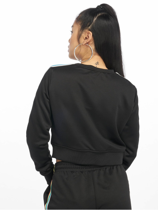 Urban Classics Pullover Multicolor Taped Sleeve black