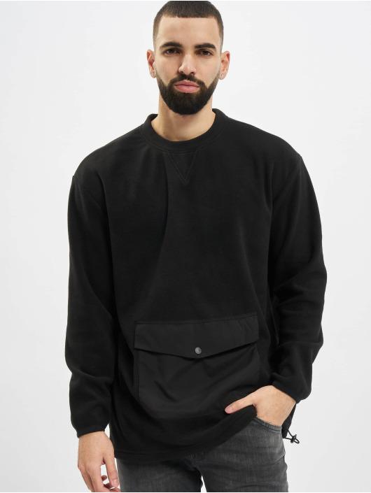 Urban Classics Pullover Polar Fleece Pocket Crew black