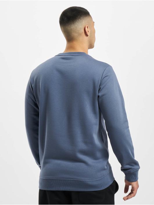 Urban Classics Pullover Basic Terry Crew blau