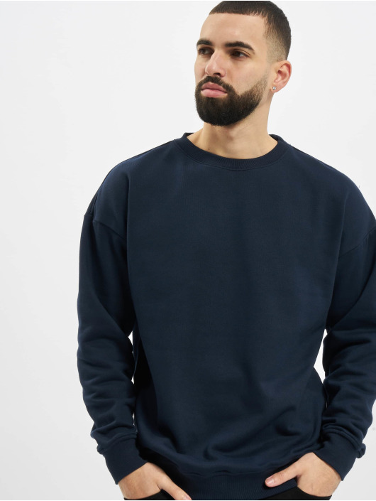 Urban Classics Pullover Sweat Crewneck blau