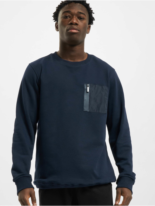 Urban Classics Pullover Military blau
