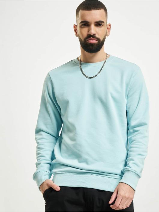 Urban Classics Pullover Basic Terry blau