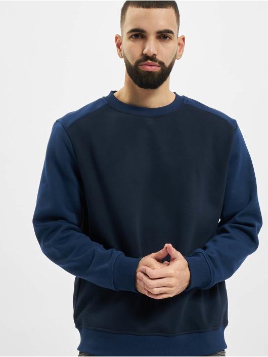 Urban Classics Pullover 2-Tone Fake Raglan blue
