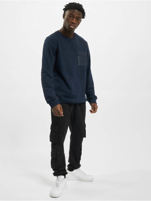 Urban Classics Pullover Military blue