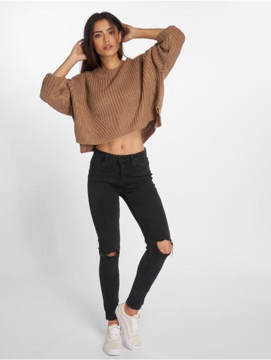Urban Classics Pullover Wide Oversize braun