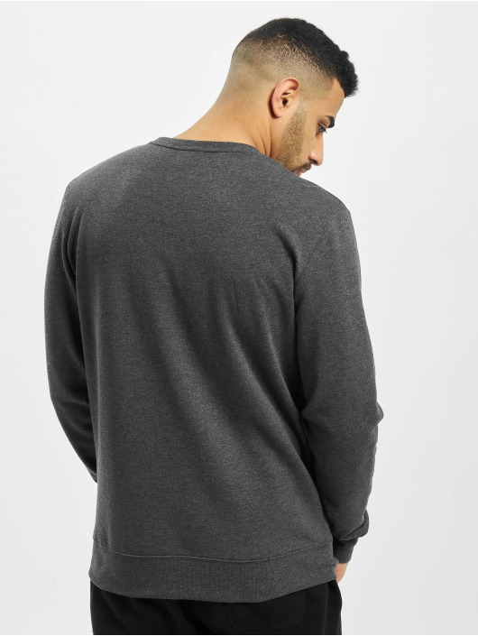 Urban Classics Pullover Contrast Pocket grau