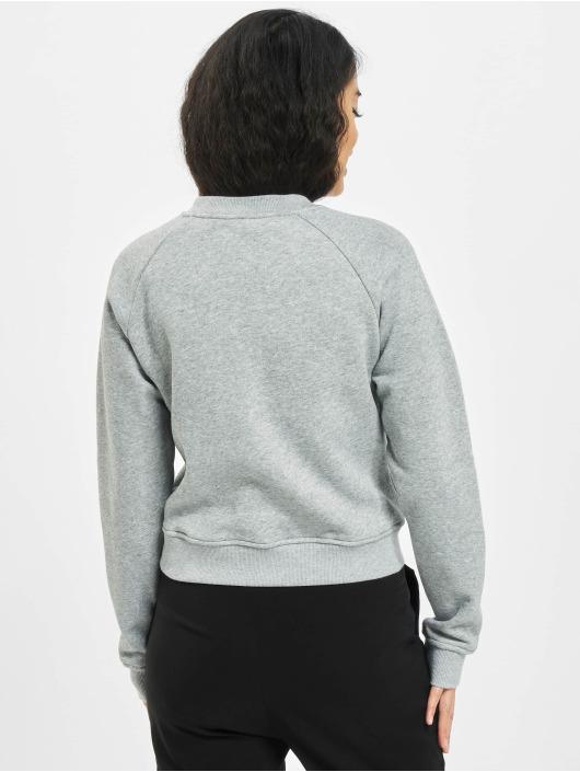 Urban Classics Pullover Ladies Short College Crew grau