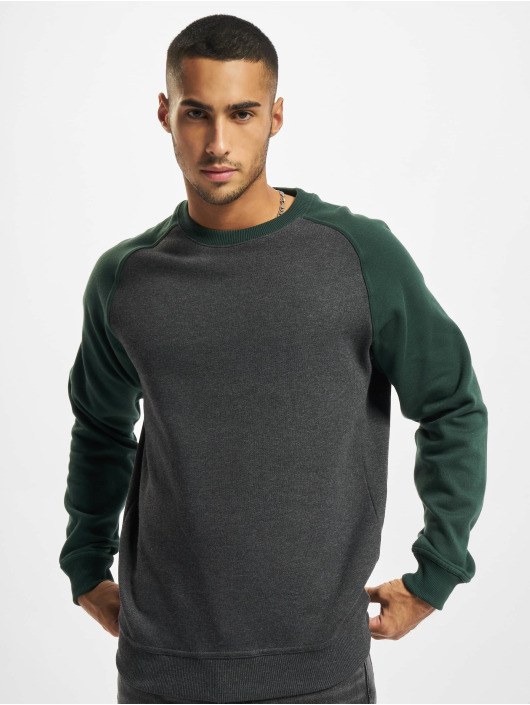 Urban Classics Pullover 2-Tone Raglan grau