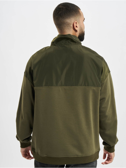 Urban Classics Pullover Military olive
