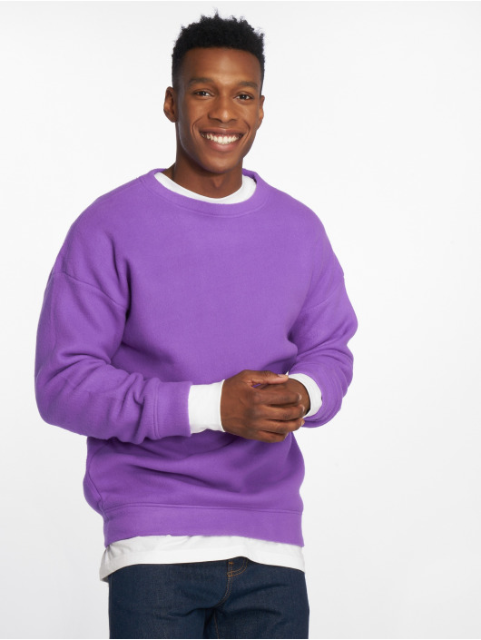 Urban Classics Pullover Polar Fleece purple