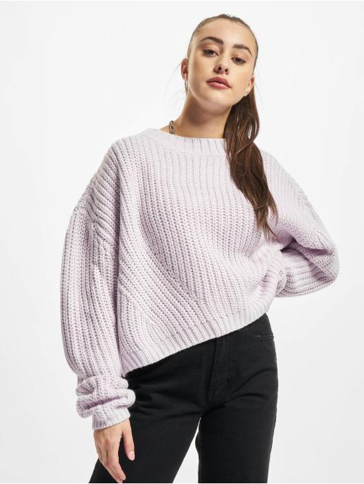 Urban Classics Pullover Ladies Wide Oversize purple