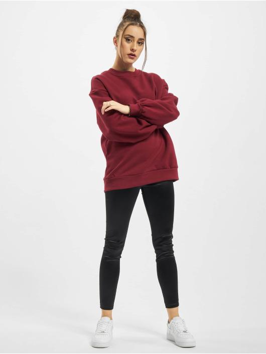 Urban Classics Pullover Organic Oversized red