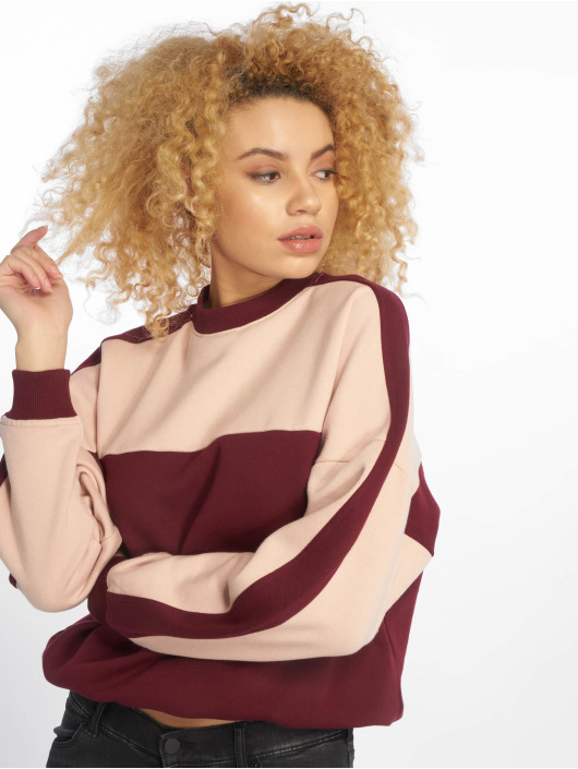 Urban Classics Pullover Two Tone rot
