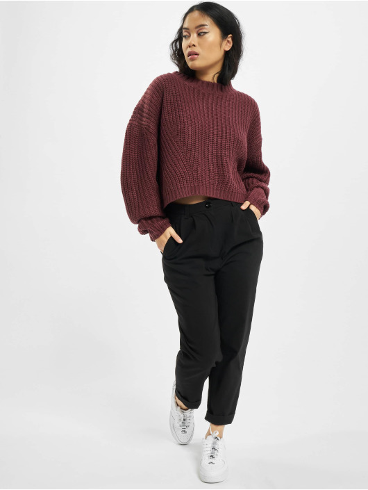 Urban Classics Pullover Wide Oversize rot