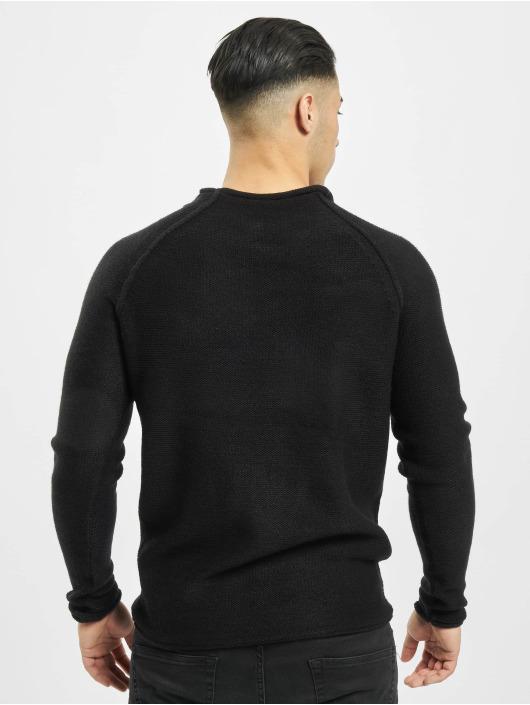 Urban Classics Pullover Raglan Wideneck schwarz