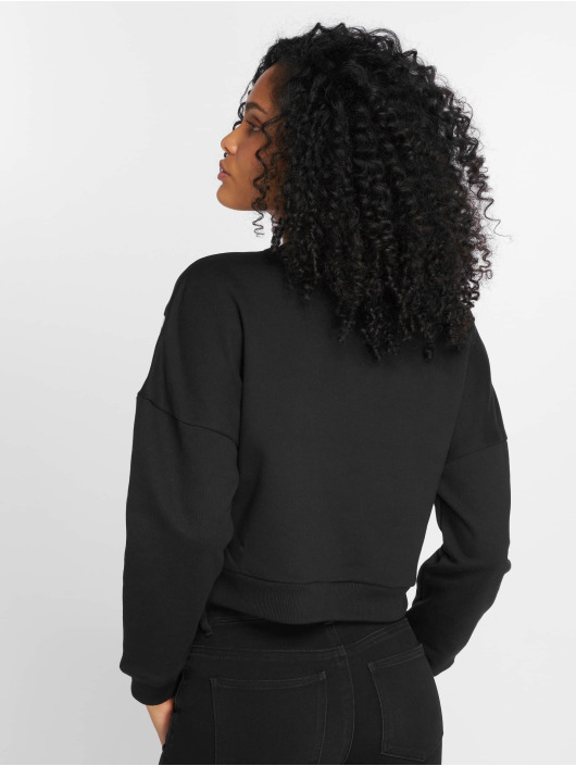 Urban Classics Pullover Inset schwarz