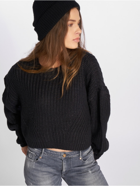 Urban Classics Pullover Wide Oversize schwarz