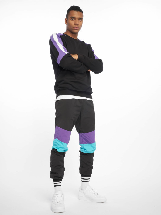 Urban Classics Pullover Terry Panel schwarz