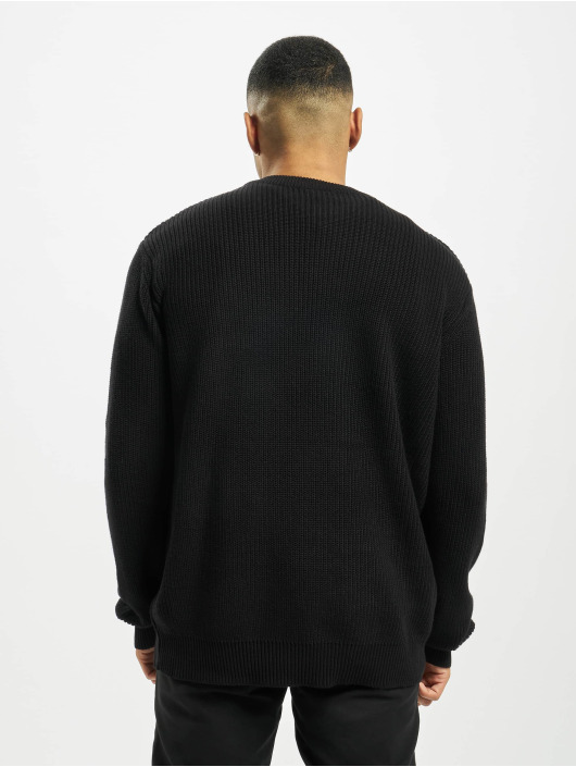 Urban Classics Pullover Cardigan Stitch schwarz