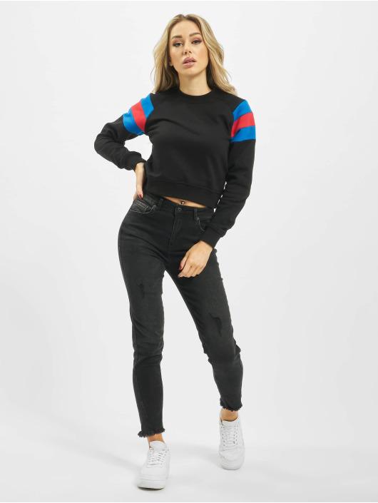 Urban Classics Pullover Sleeve Stripe schwarz
