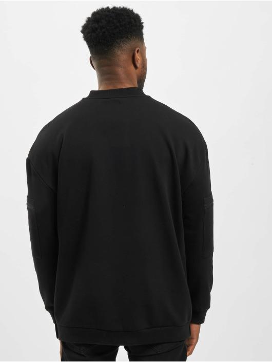 Urban Classics Pullover Training Terry Crew schwarz